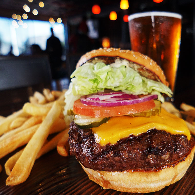 godfather 39 s burger lounge a bloody burger you can sink your teeth in. Black Bedroom Furniture Sets. Home Design Ideas